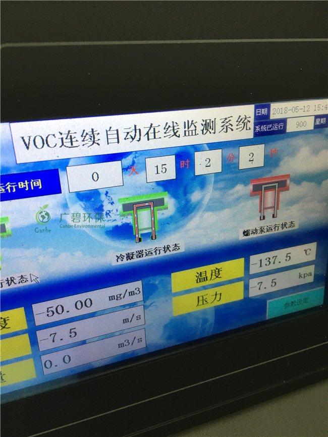 VOCs在线监控系统