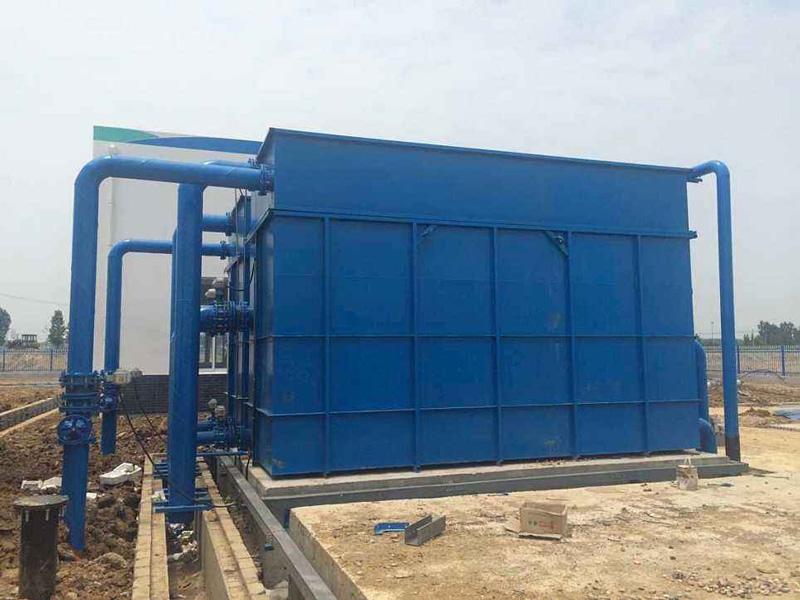 佛山高明水质净化厂纤维束滤池改造