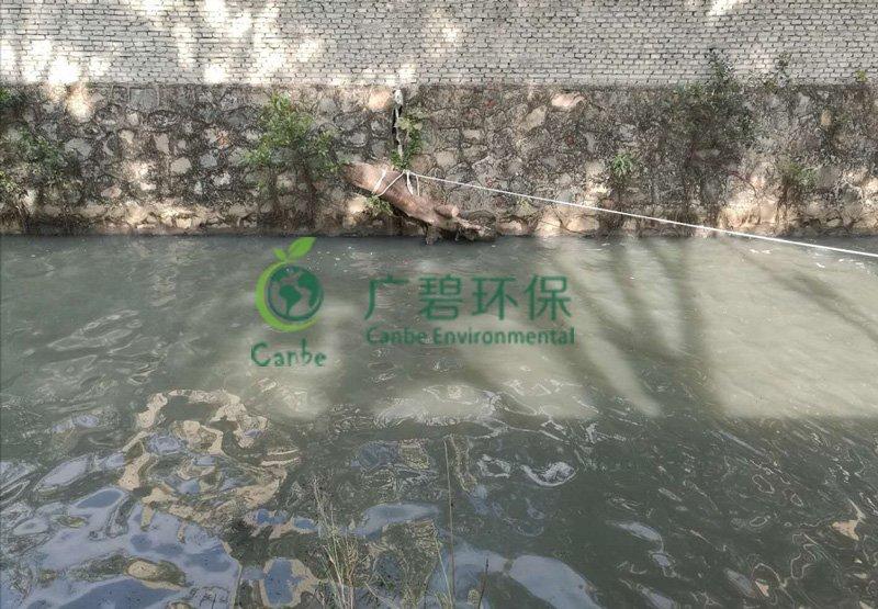 顺德灏景湾河涌水质应急处理治理