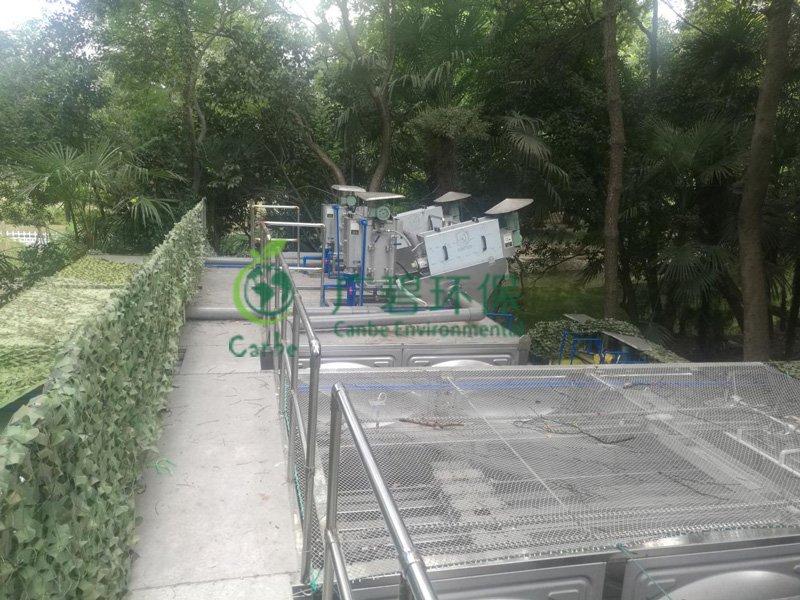 顺德工业污水处理一体化水处理设备