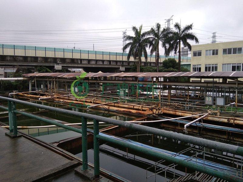 顺德杏坛污水处理厂5000吨印染废水处理