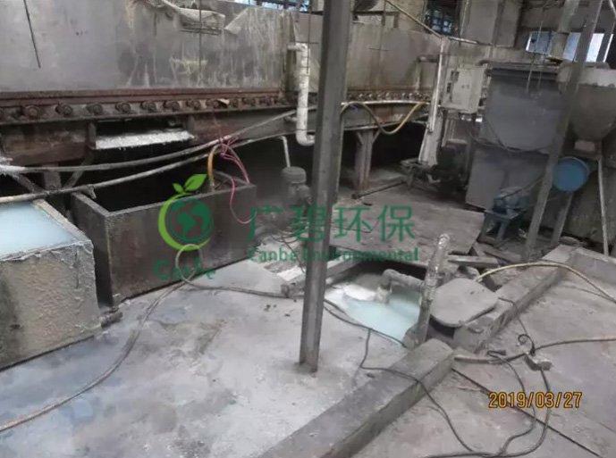 顺德容桂查处一宗重金属废水外排污染河涌环境违法行为