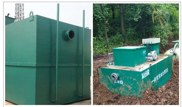 一体化地埋式污水处理系统设备