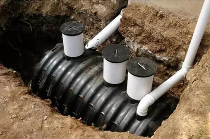 农村三格化粪池的工作原理与设计施工