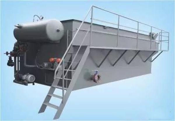 溶气气浮装置的原理及工艺