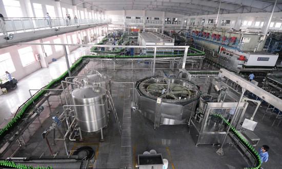 佛山南海啤酒厂污水处理案例