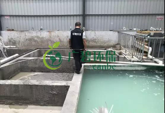 佛山市生态环境局开展广佛跨界流域涉水企业专项执法