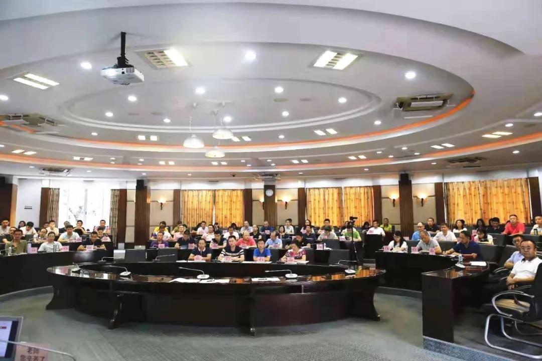 """佛山市生态环境局局长杨永泰作""""不忘初心、牢记使命""""主题教育报告"""