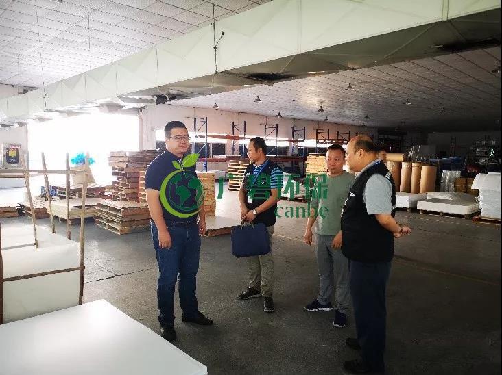 佛市生态环境局顺德分局副局长唐菠带队开展村级工业园环保执法