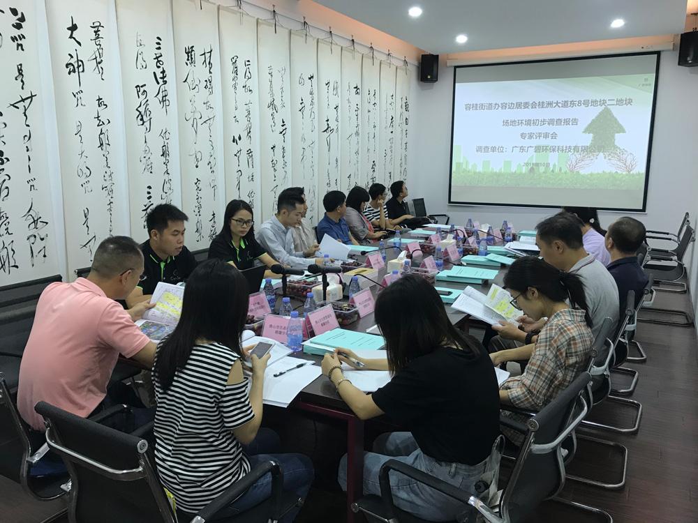 新葡新京承接顺德容桂宝供物流城场地调查项目顺利通过专家评审