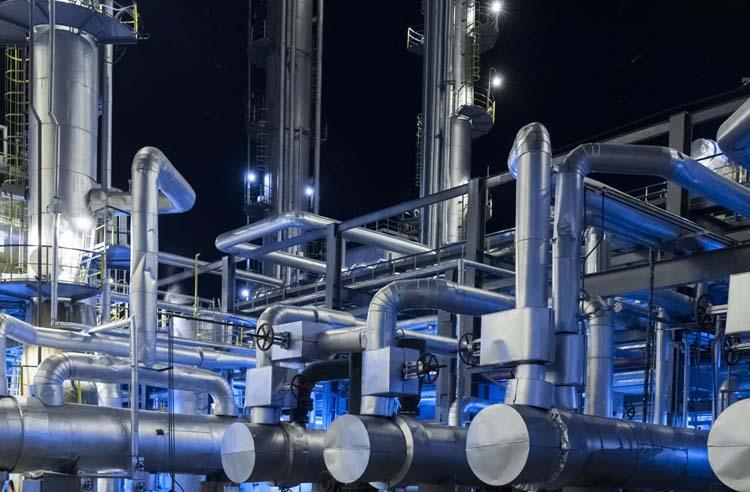 石油化工厂污水处理