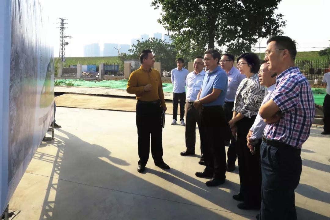 佛山生态环境局局长杨永泰在南海区狮山镇开展水环境整治调研