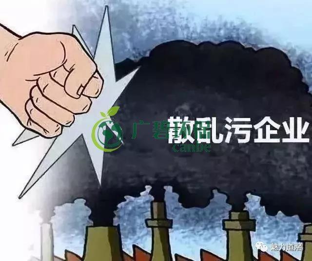 """佛山南海镇5家""""散乱污""""无证作访被取缔整治"""