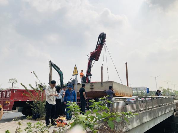 新葡新京金陡涌水质初步消除黑臭服务项目正式启动