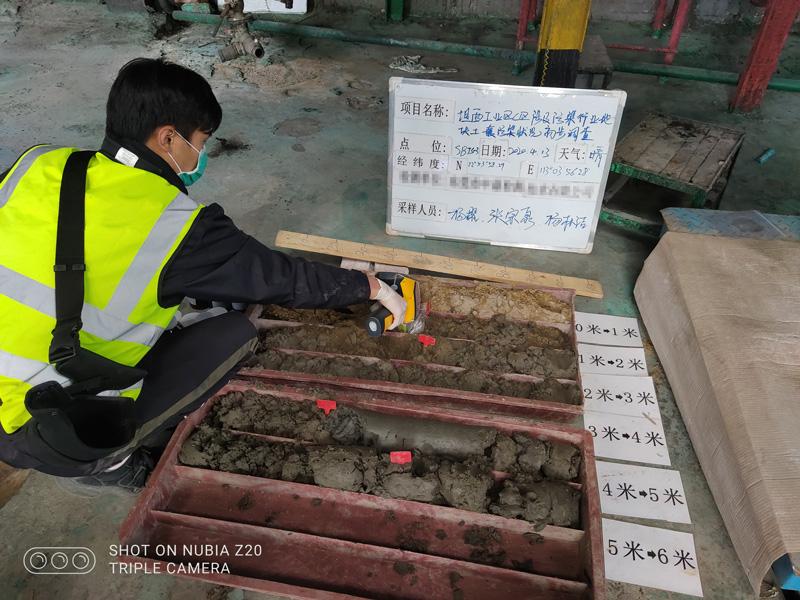 顺德龙江坦西工业园A、C、E区涉及污染行业地块土壤污染初步调查