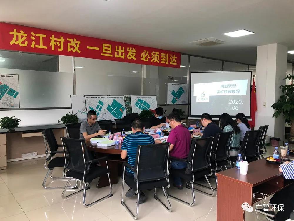 广碧环保《龙江镇坦西工业区地块土壤污染状况调查报告》通过评审