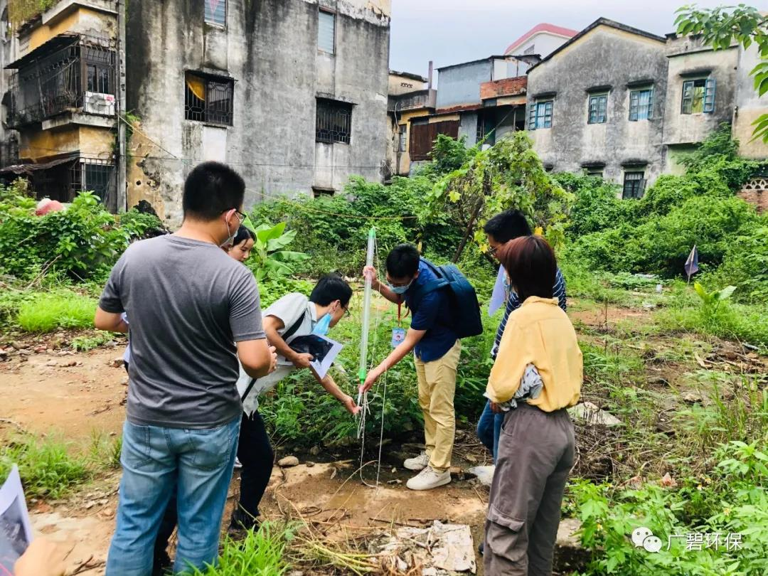广碧环保《容桂街道容新居委会德胜路40号地块土壤污染状况初步调查报告》通过评审