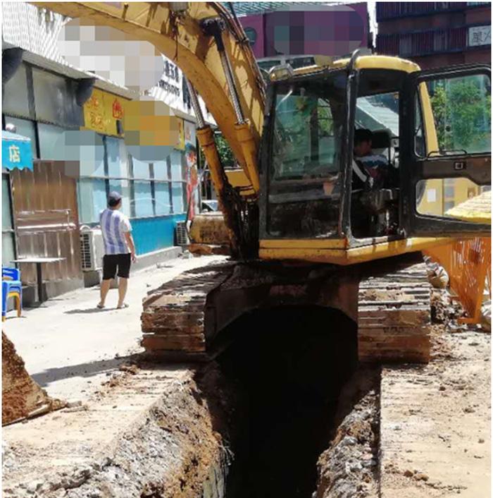广东三个村居污水管网工程